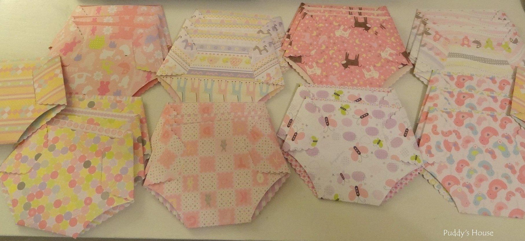 Baby Diaper Invitations