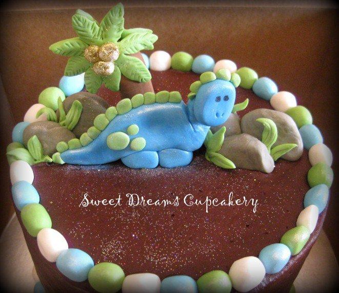 Baby Dinosaur Party Invitations