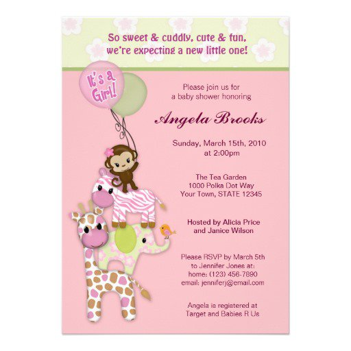 Baby Shower Invitations Downloadable