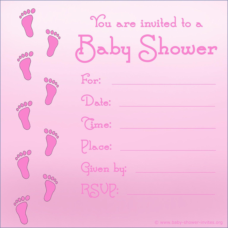 Baby Shower Invitations Pdf