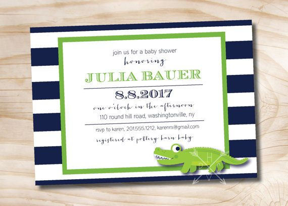 Baby Shower Invitations Pottery Barn