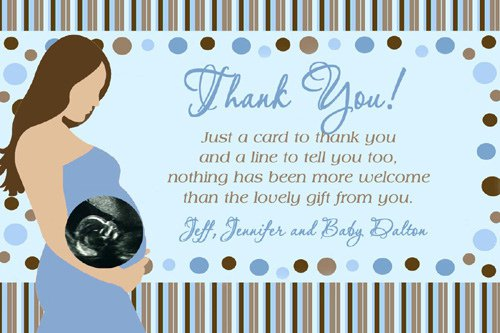 Baby Shower Invitations Thank You Notes