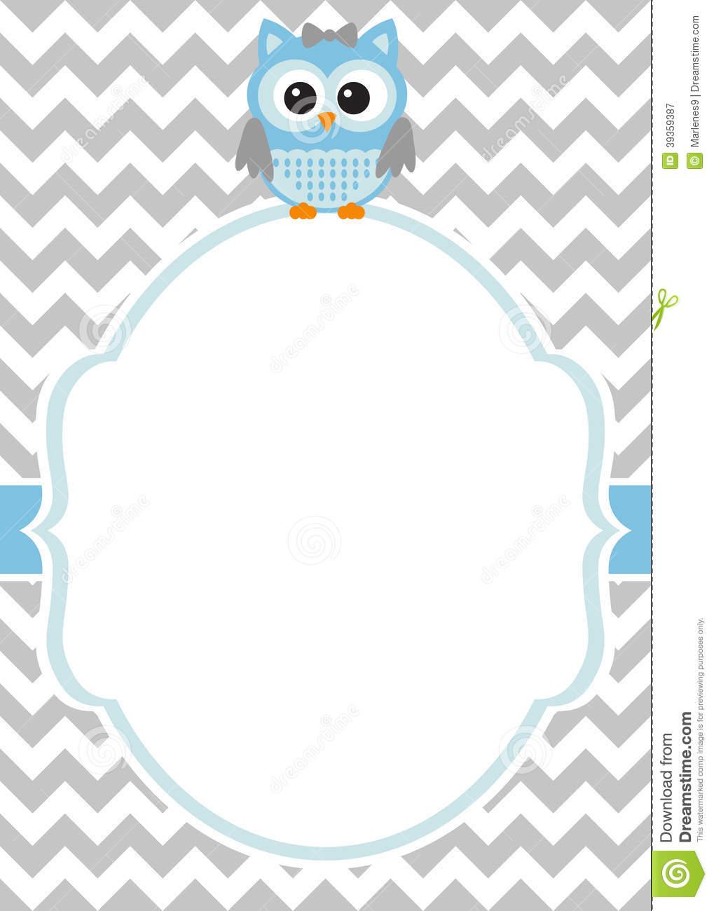 Baby Sprinkle Invitation Templates Blank