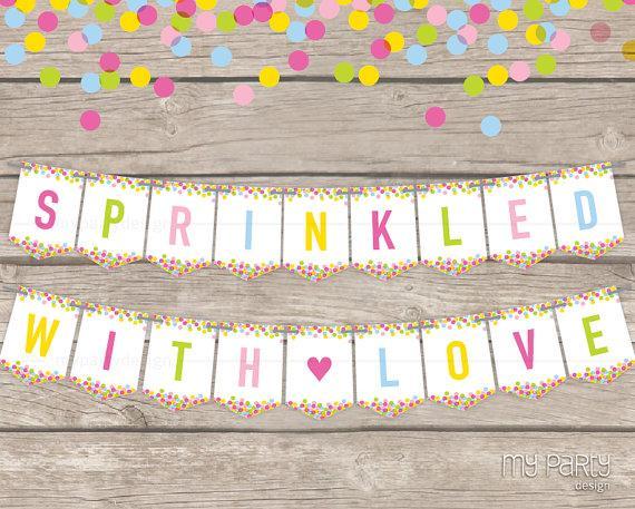Baby Sprinkle Invitations Girl