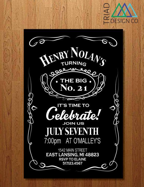 Bachelor Party Invitations Printable