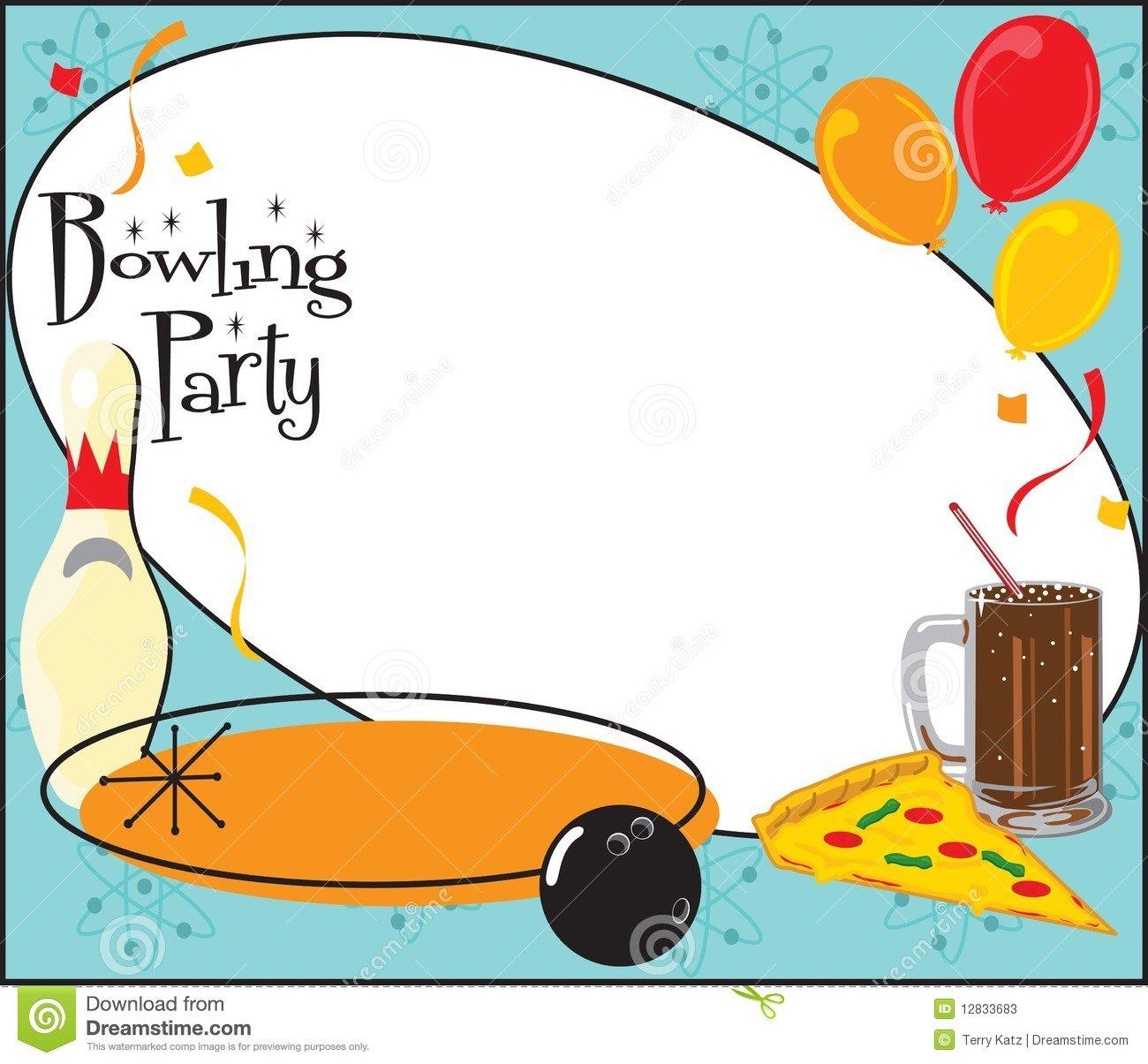 Background Birthday Invitations