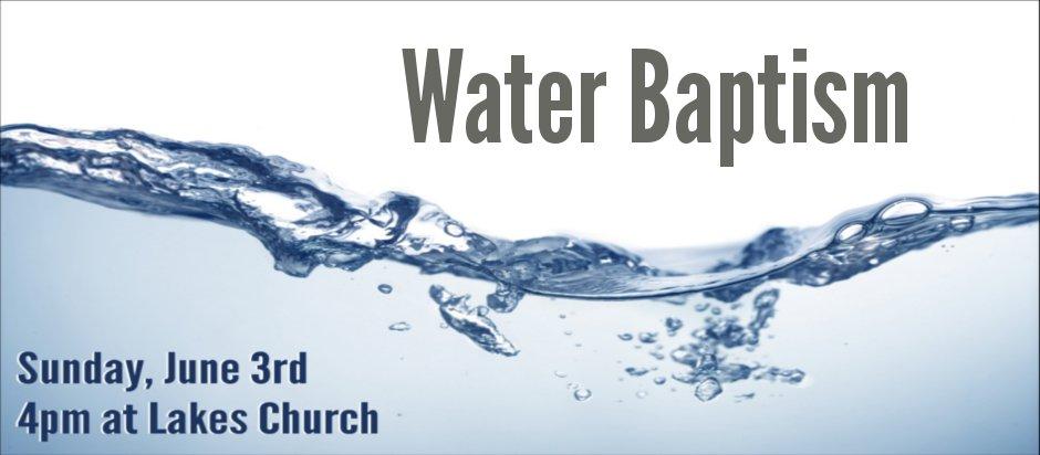 Baptism Prayer Invitation