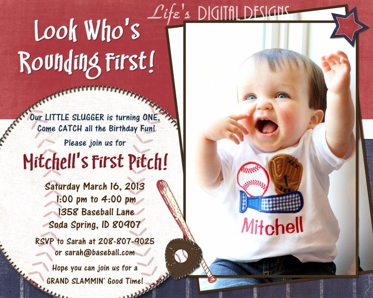 Baseball Party Invitation Sayings