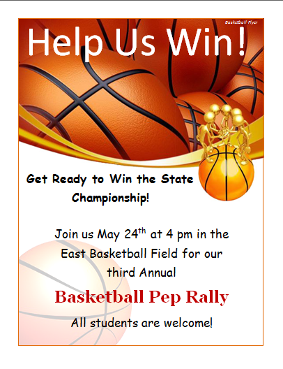 Basketball Fundraiser Invitation