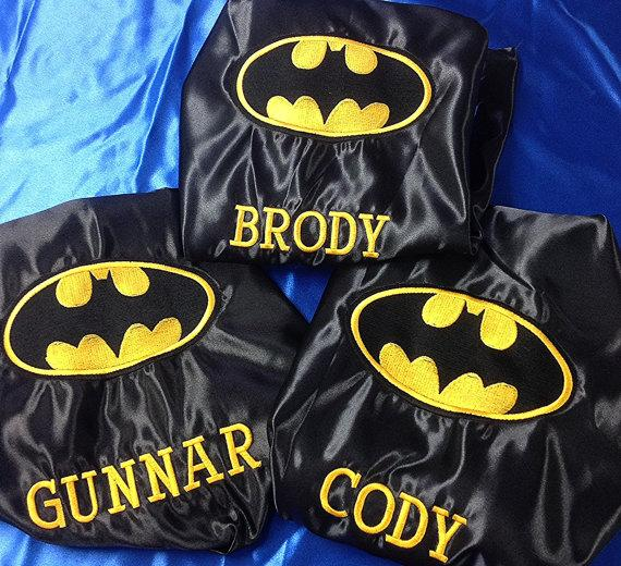 Batman Cape Invitation