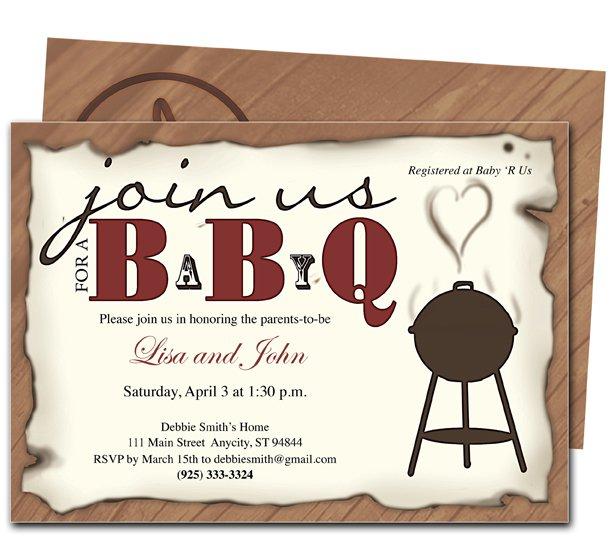 Bbq Graduation Party Invitations Free Printable