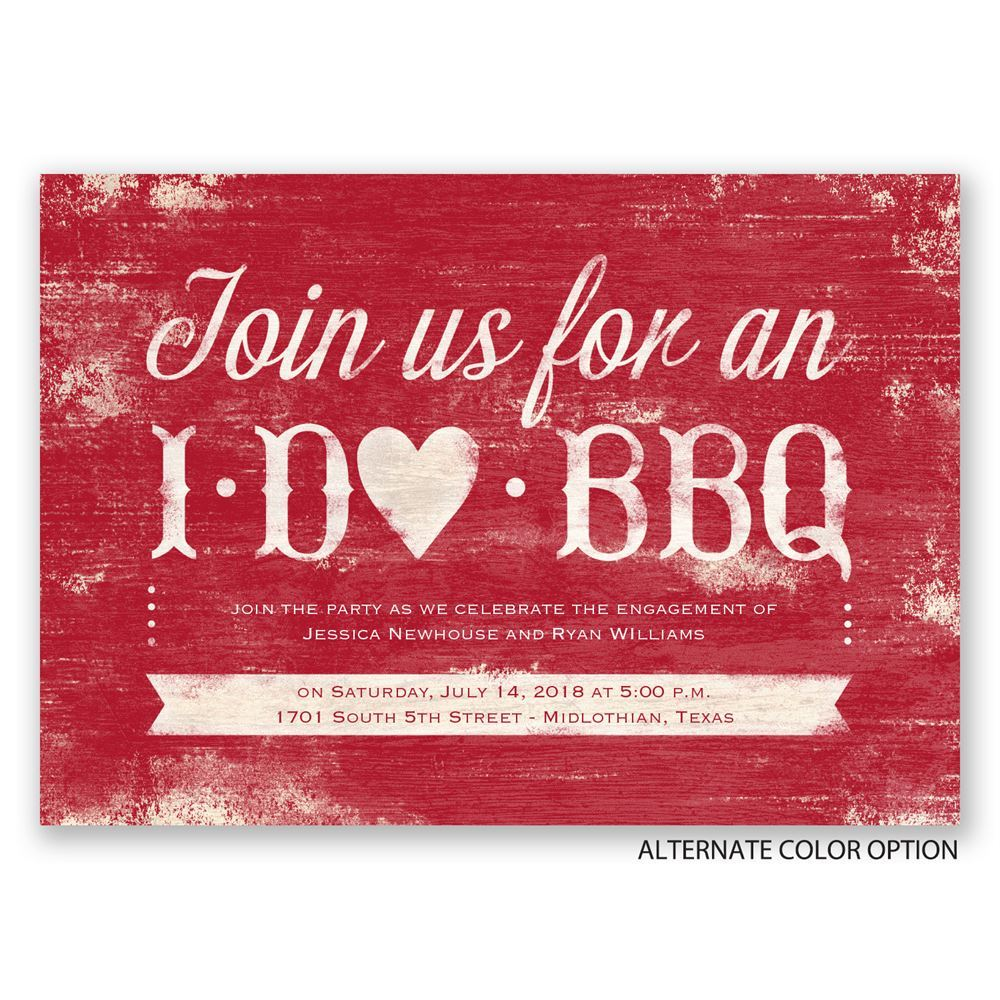 Bbq Party Invitations Wording