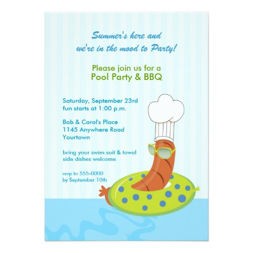 Bbq Wedding Invitations