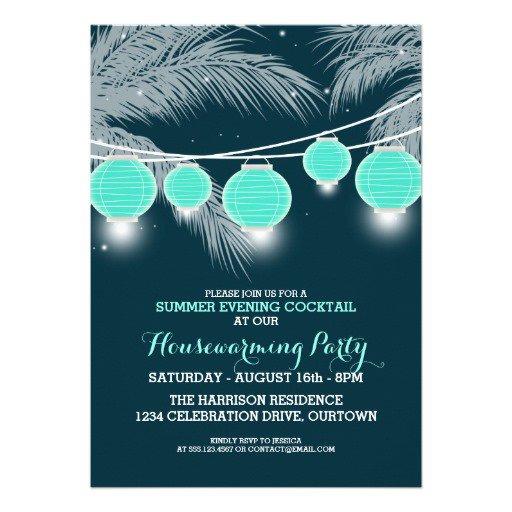 Beach Bonfire Party Invitations