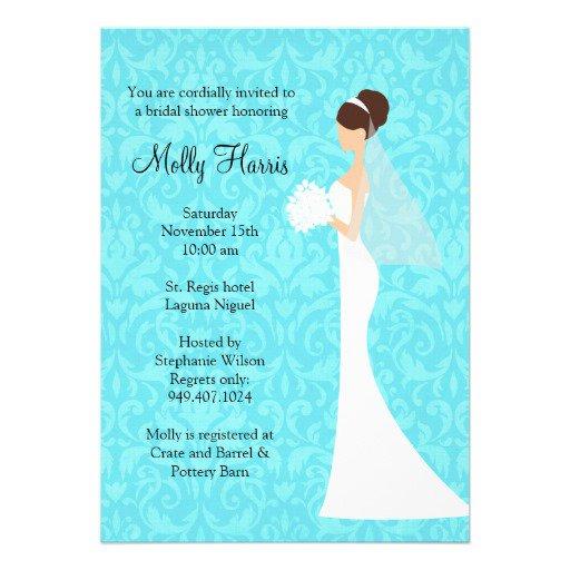 Beautiful Wedding Shower Invitations