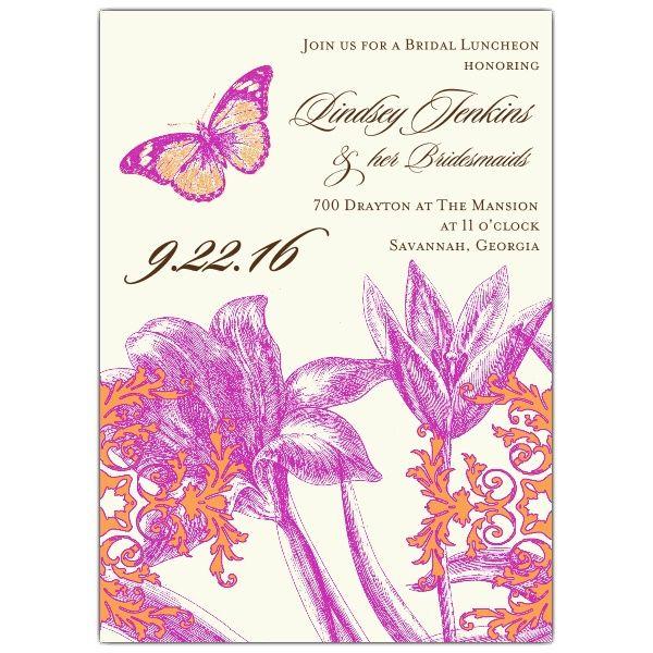 Bella Bridesmaids Luncheon Invitations