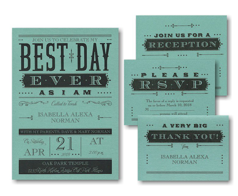 Best Bat Mitzvah Invitation Wording