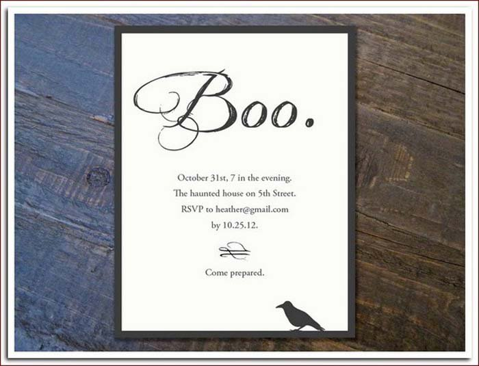 Best Halloween Invitations Ever