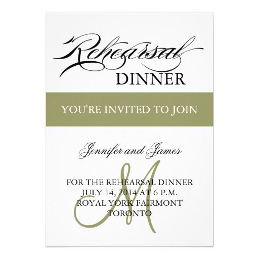 Best Online Rehearsal Dinner Invitations