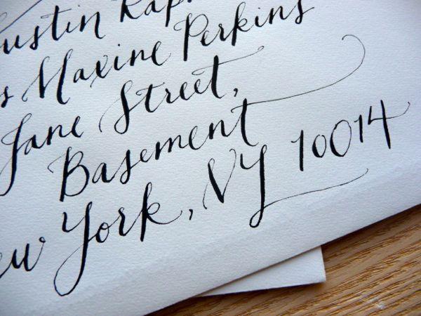 Popular Fonts For Wedding Invitations: Best Wedding Invitation Envelopes Fonts