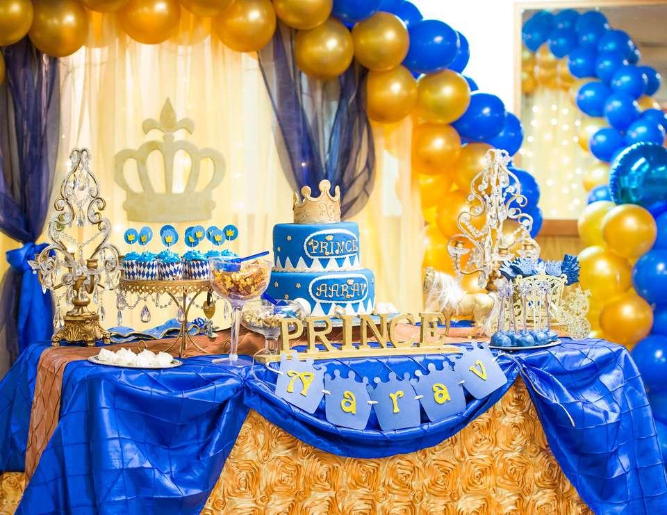 Birthday Boy Prince Invitations