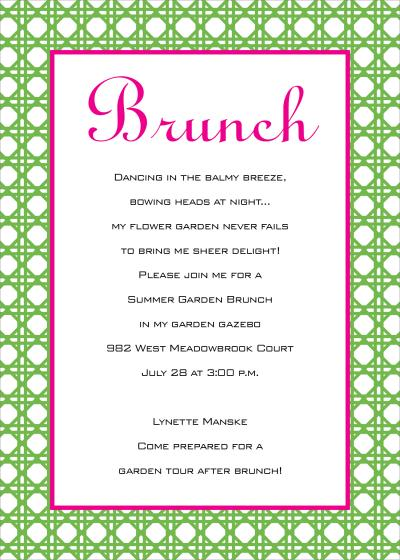 Birthday Brunch Invitations