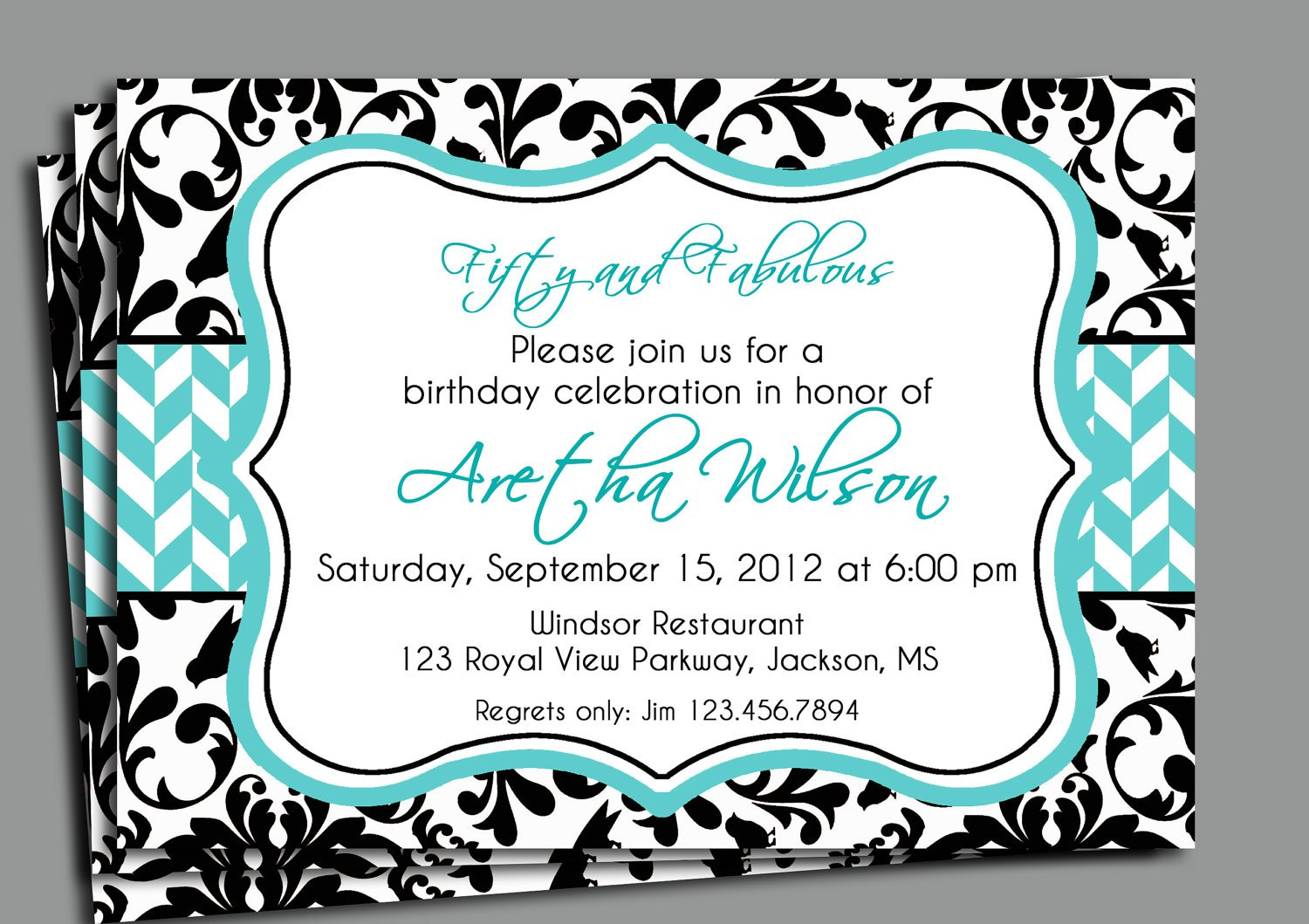 Birthday Invitation Wording Samples For Adults