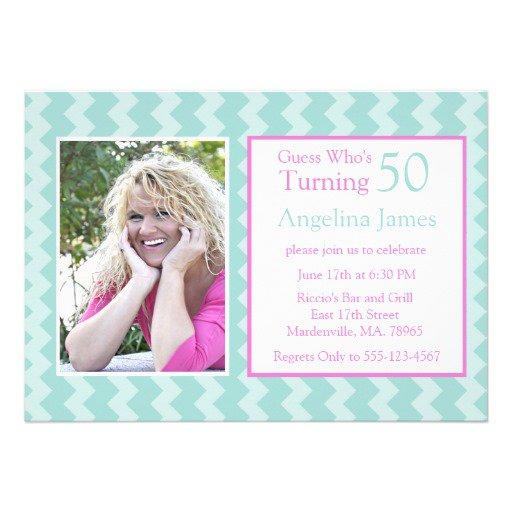 Birthday Invitations 50th Party