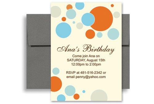Birthday Party Invitation Templates Microsoft Word