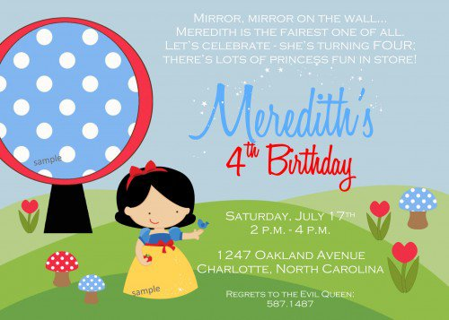 Black And White Birthday Party Invitations Free