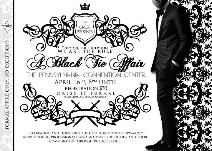 Black Tie Affair Invitations
