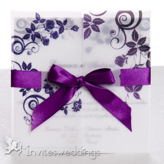 Black Wedding Invitations Kits