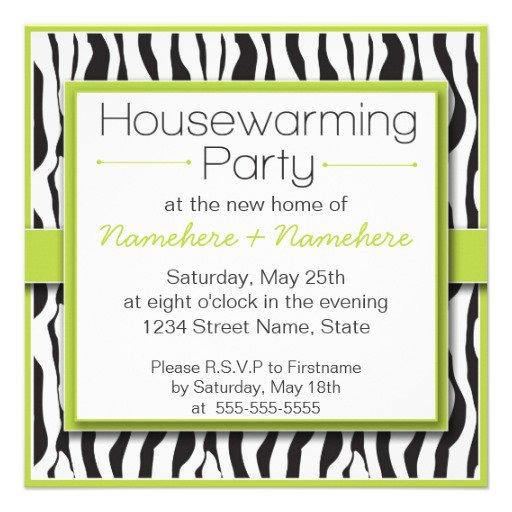 Black White Party Invitations Free