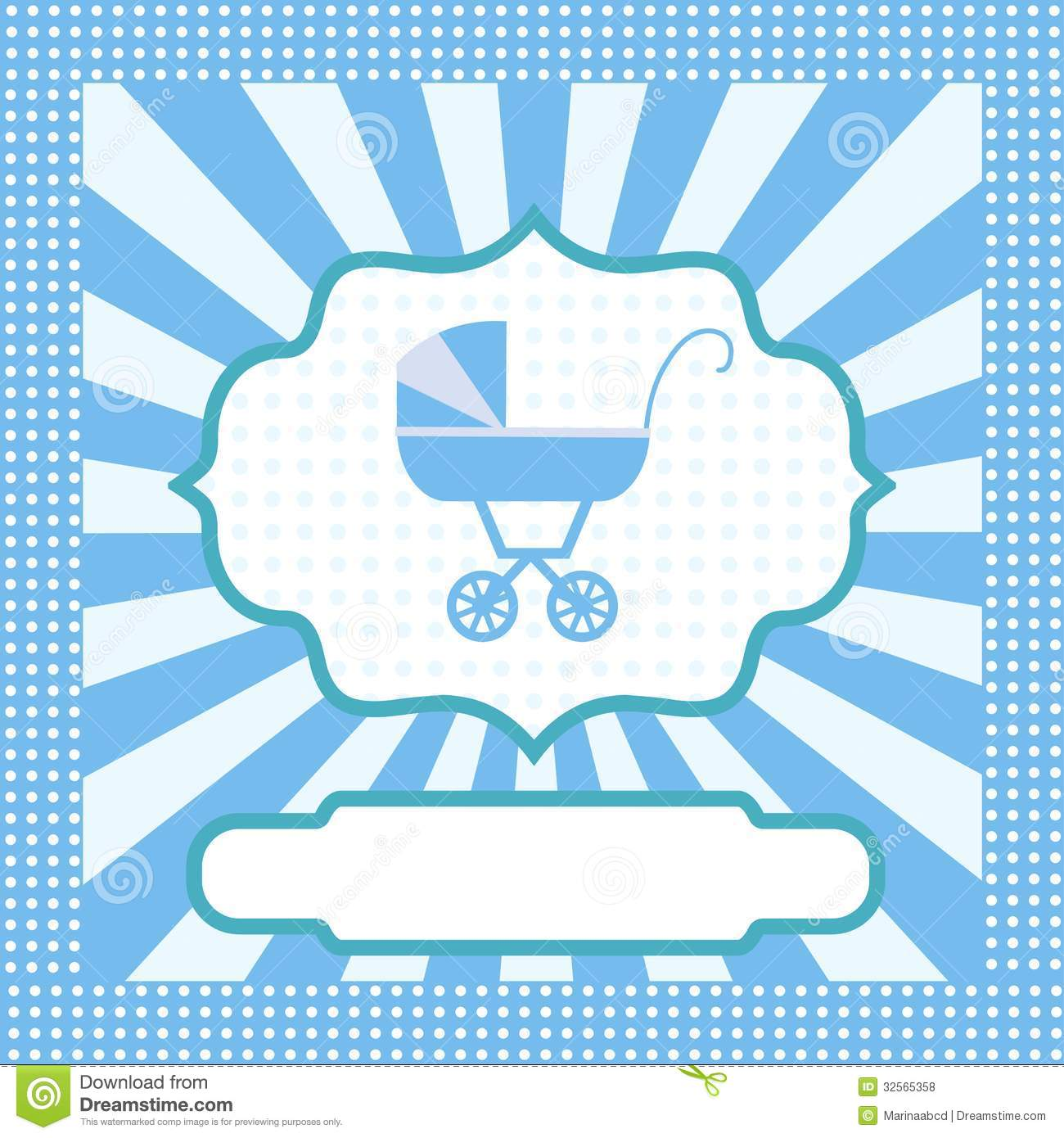 Blank Baby Shower Invitation Card Stock