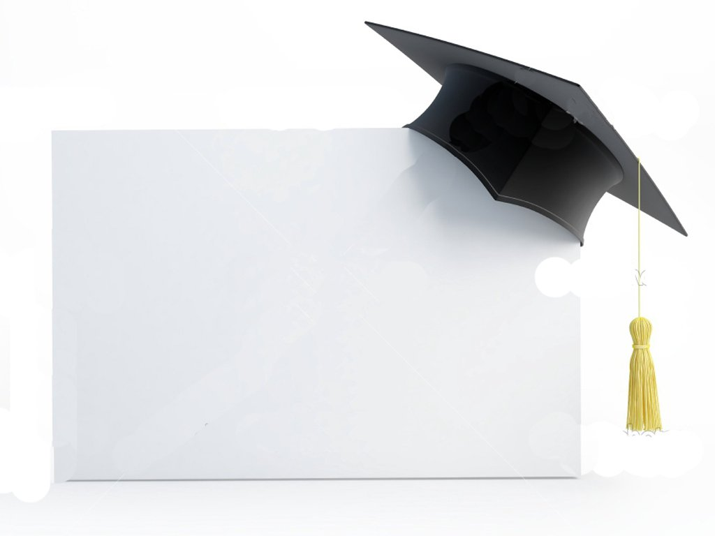 Blank Graduation Invitation Backgrounds