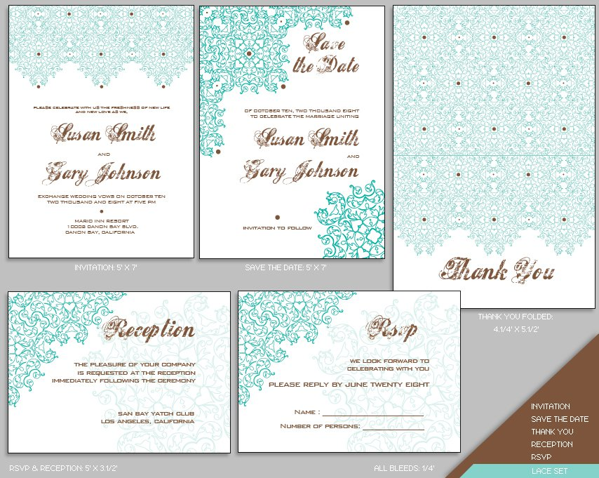 blank invitation templates for word