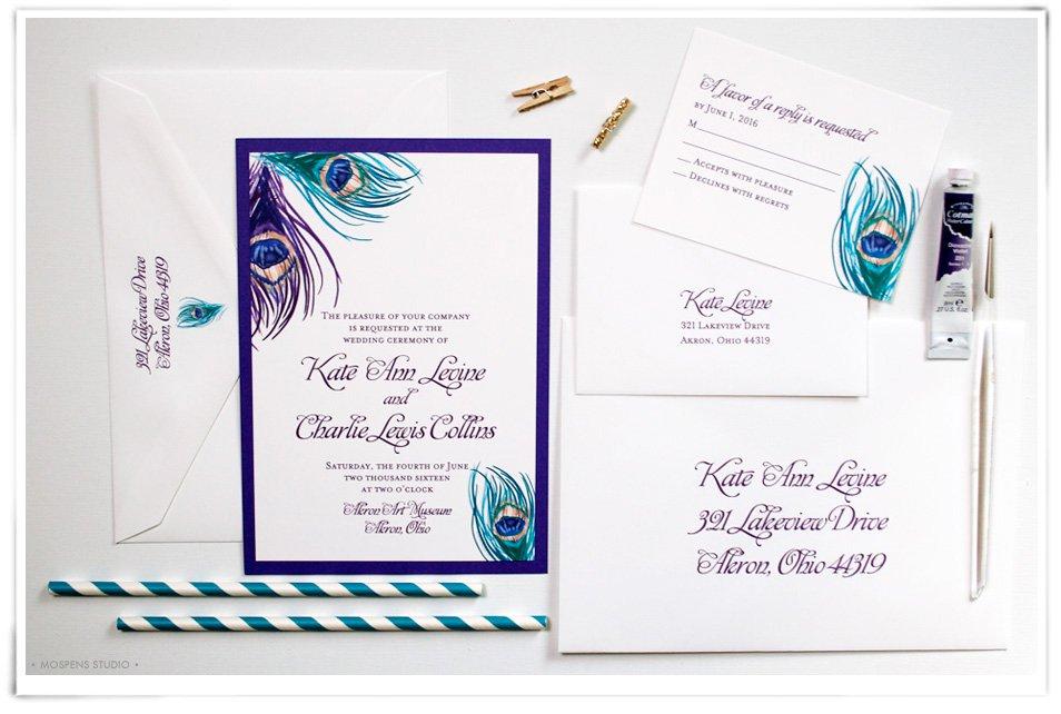Attractive Blank Wedding Invitations Kits