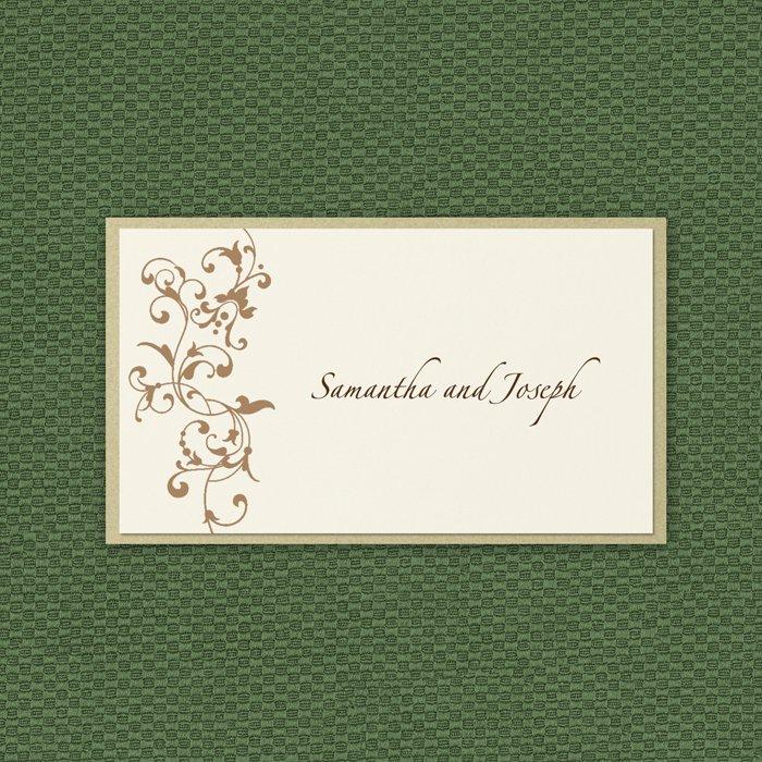 Blank Wedding Reception Invitations
