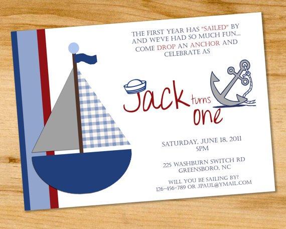 Party Invitation Wording – Boat Party Invitation