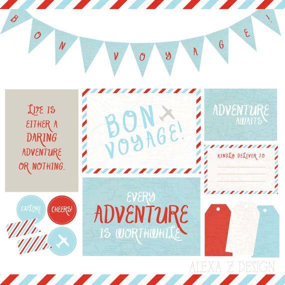 Bon Voyage Party Invitations Free