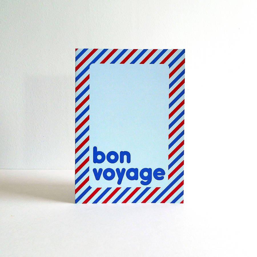 Bon Voyage Party Invitations Uk