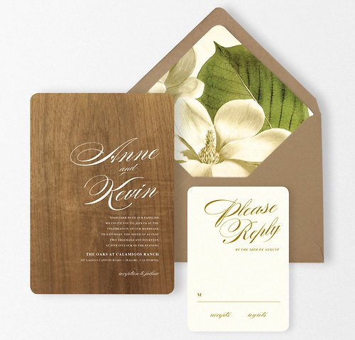 Book Invitations Wedding