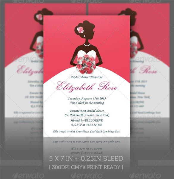 Bridal Invitations Templates