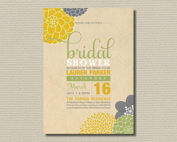 Bridal Shower Invitation Packs