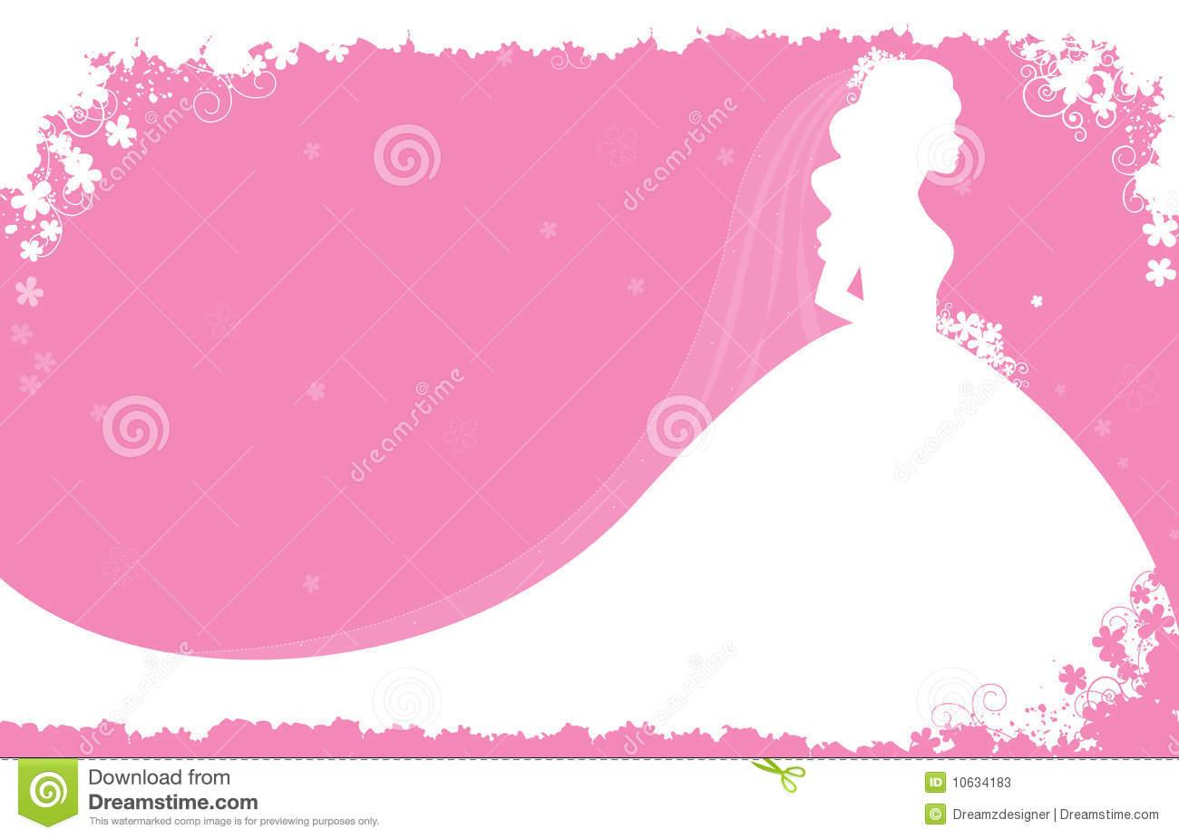Bridal Shower Invitations Background