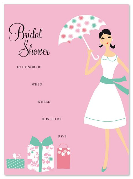 Bridal shower invitations fill in for Bridal shower fill in invitations