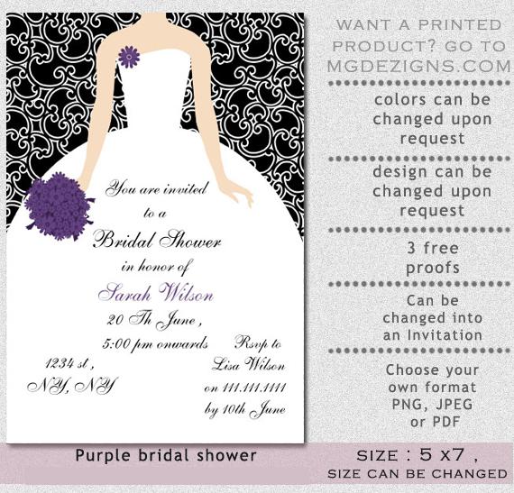 Brides Invitations Templates