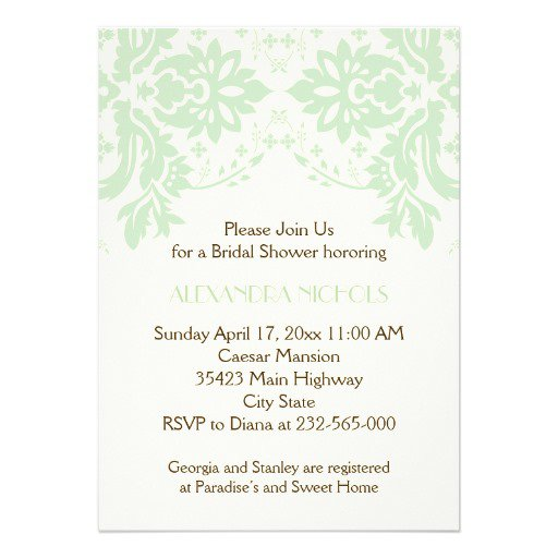 Brown And Ivory Wedding Invitations