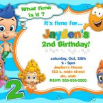 Bubble Guppies Birthday Invitations Online