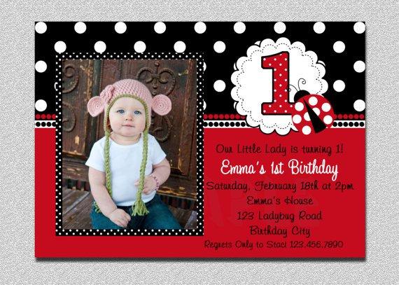 Bug Birthday Party Invitations
